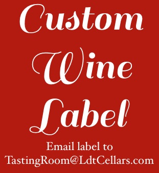 Sparkling Rose of Syrah - Custom Label